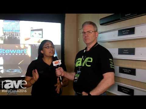 InfoComm 2016: Corey Moss Interviews Mark Robinson and Vijita U.G. of Stewart Filmscreen