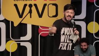 Desafio Comédia Ao Vivo - Legalização da Maconha / Luan Santana e Bruna Marquezine