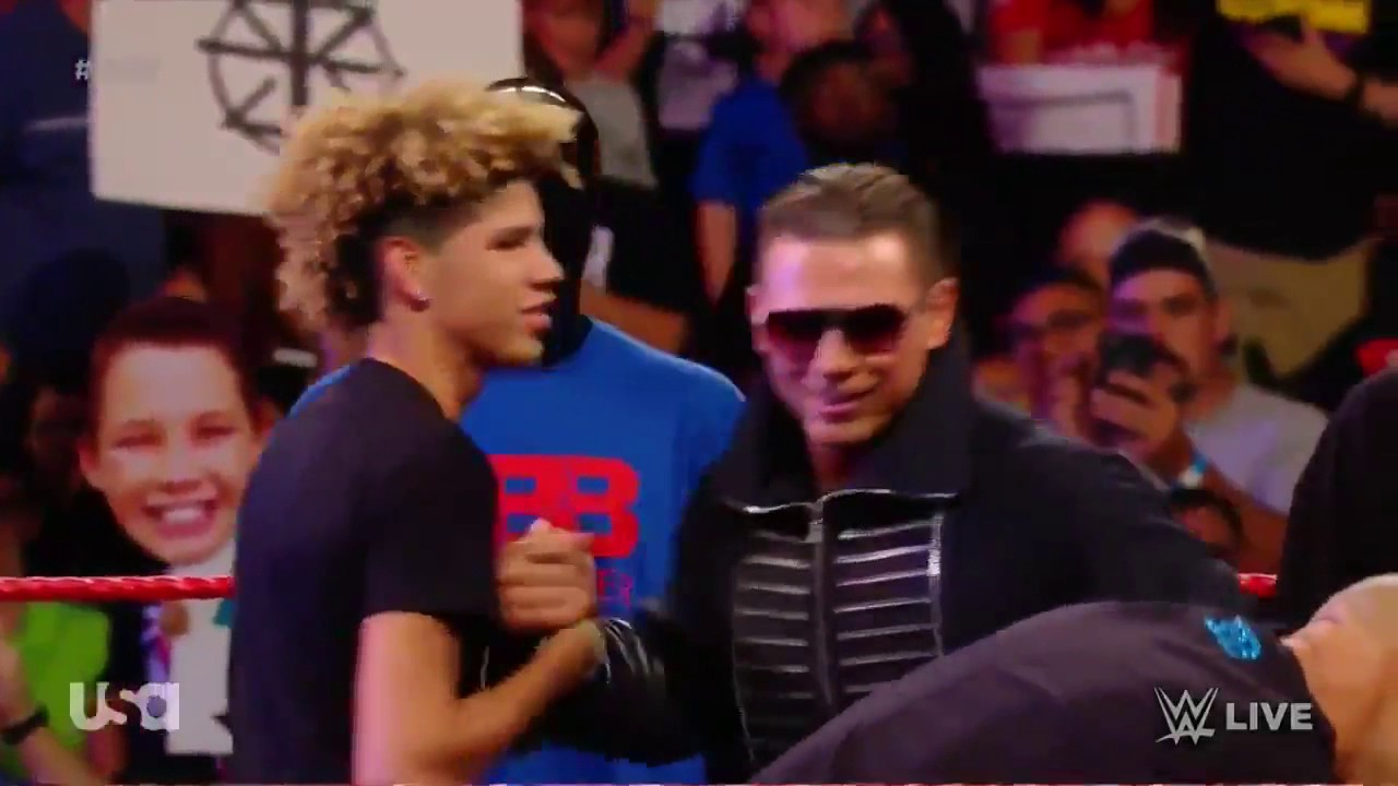 """Lavar Ball and the Ball Brothers on WWE RAW 