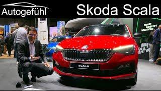 Skoda Scala REVIEW Exterior Interior Rapid successor - Autogefühl