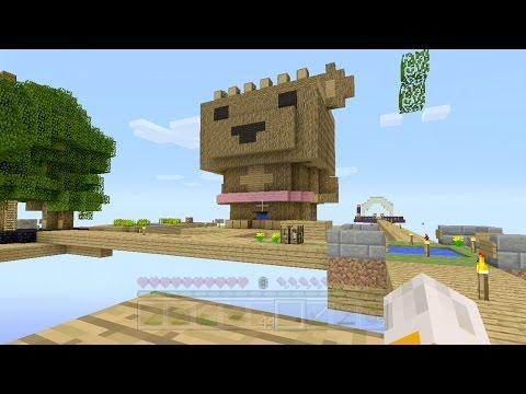 Minecraft Xbox Sky Den Barry Bear 11