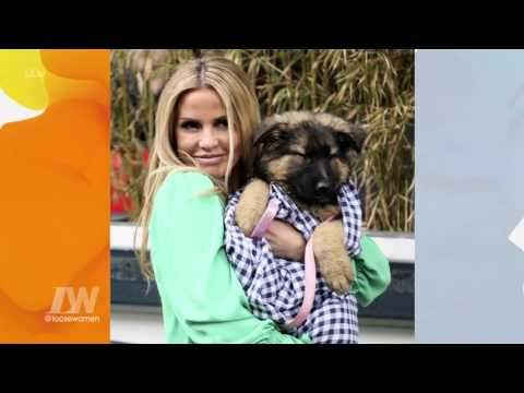 Katie Price Takes A Puppy Home | Loose Women
