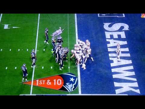 New England Patriots Vs Seattle Seahawks Super Bowl 2015 Malcolm Butler's Interception
