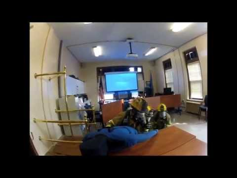 Saratoga Springs Fire Department Group 4 Search Drill