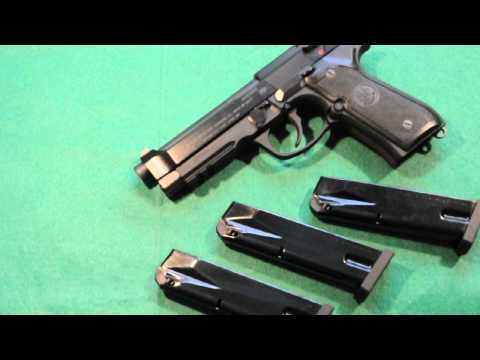 Beretta 96A1 pistol - Features and performance