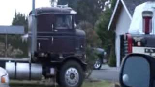 1955 Kenworth Bullnose first run in 4 years