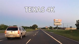 Texas 4K - Sunrise Drive - USA