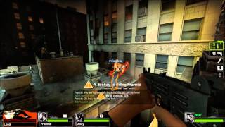 Heavy plays Left 4 Dead 2