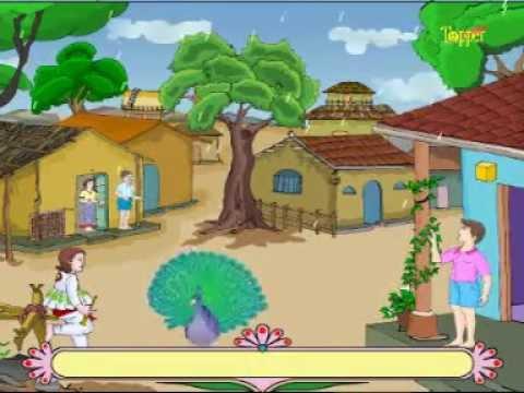 Bal Geet Gujarati Aavo Meghraja Vagadavo Vaja Tip Tip Tam Tam     Gujarati Baal Geet Kavita  Poem video