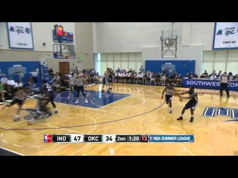 Indiana Pacers vs Oklahoma City Thunder | July 9, 2014 | NBA Summer League 2014