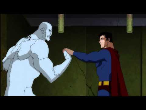 Justice League-Doom Superman Fight Clip