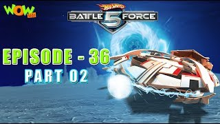 Motu Patlu presents Hot Wheels Battle Force 5 - Lord of the Kharamanos- S2 E36.P2 - in Hindi