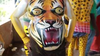 Man to Tiger - Get ready  for Tiger Dance