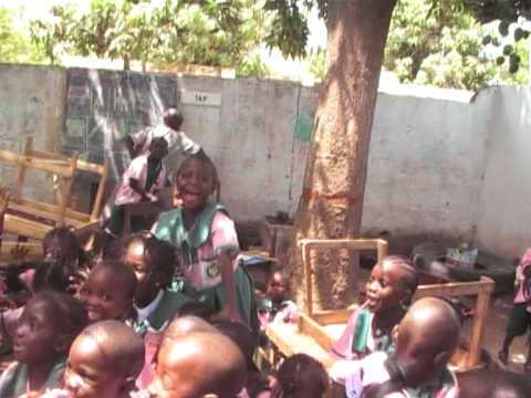 The children of Erenyang school.MOD