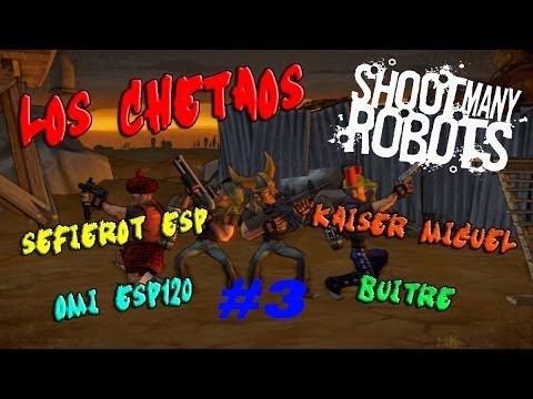 Shoot Many Robots – Cooperativo a 4 jugadores ( Matar,matar y matar )