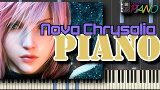 Nova Chrysalia (Final Fantasy XIII) Piano + Chiptune Cover