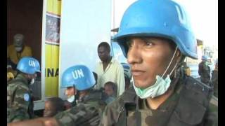 Today Worknews Haiti Food Distributed By Bolivian Un Peacekeepers Un Minustah
