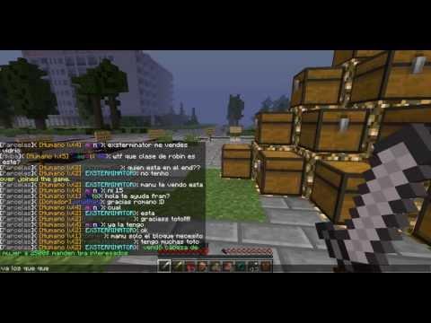 Minecraft 1.6.2 The hunger games los juegos del hambre server no premium no hama