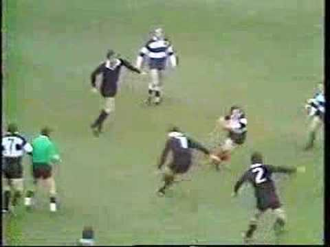 The Greatest Try of All Time?  All Blacks vs. Barbarians 1973 - The Greatest Try of All Time?  1973