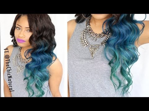HOW TO: Mermaid Hair Color DIY!