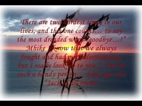 Kuya Mhike Farewell Music Video video