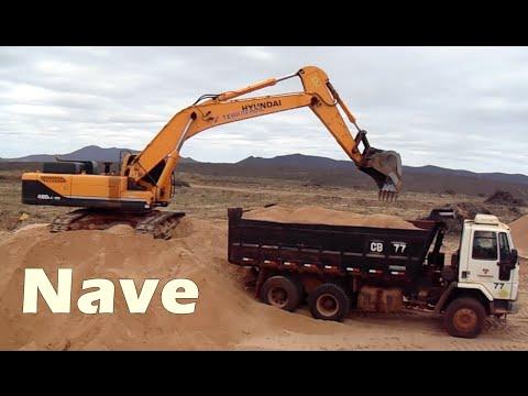 escavadeira Hiundai 480LC-95 operador Emerson.