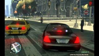 NYPD Unmarked crown victoria patroling - GTA 4
