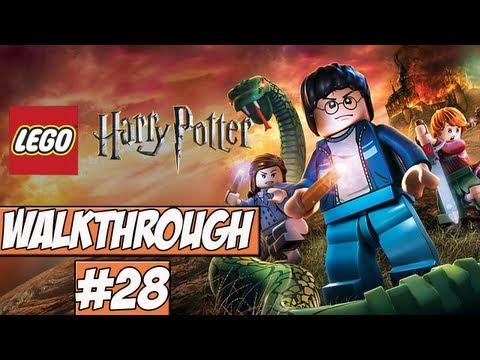 LEGO Harry Potter: Years 5-7 Walkthrough Ep.28 w/Angel - Back To The Chamber!