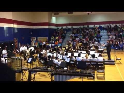 Grovetown Middle School Band Concert