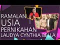 Mbah Mijan Ramalkan Usia Pernikahan Laudya Cynthia Bella Dengan Engku Emran