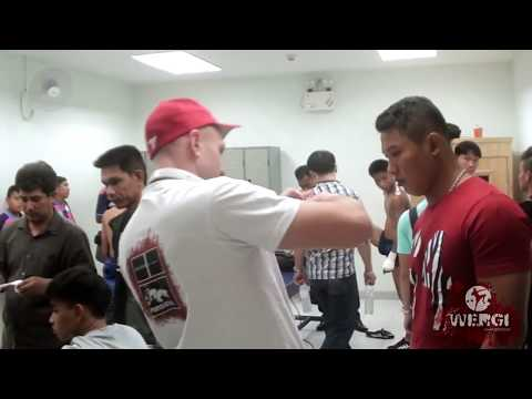New Lumpinee Boxing Stadium-backstage&fight shots!