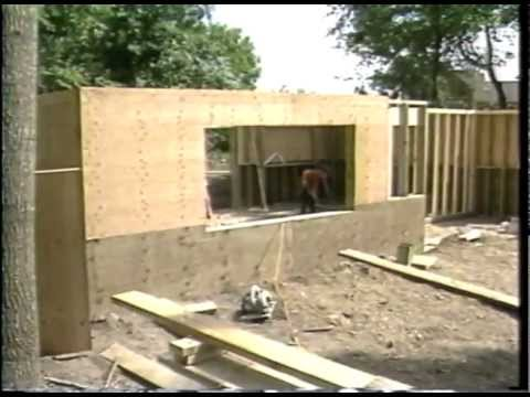 Permanent wood foundations nothing complicated nothing for Building a basement foundation