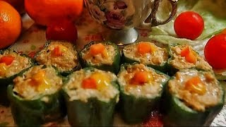 Green Bell Pepper Siomai by Luweeh's Tagalog Kitchen