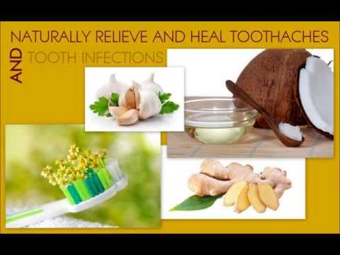 Natural cures and home remedies for toothache and tooth infection.