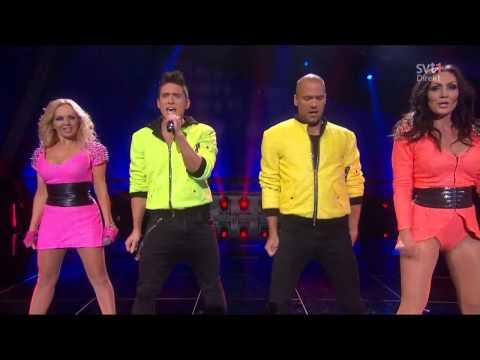 Alcazar & Danny Saucedo - Alcazar Medley (Live @ Melodifestivalen 2013 - Semi)