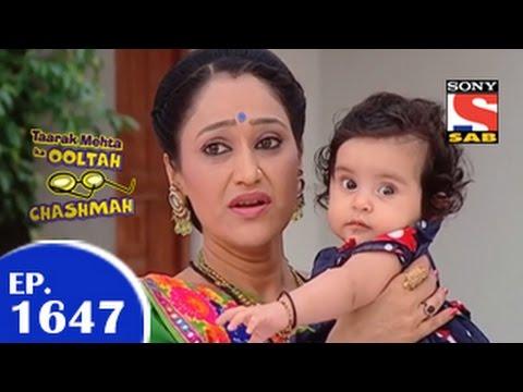 Taarak Mehta Ka Ooltah Chashmah - तारक मेहता - Episode 1647 - 9th April 2015 video