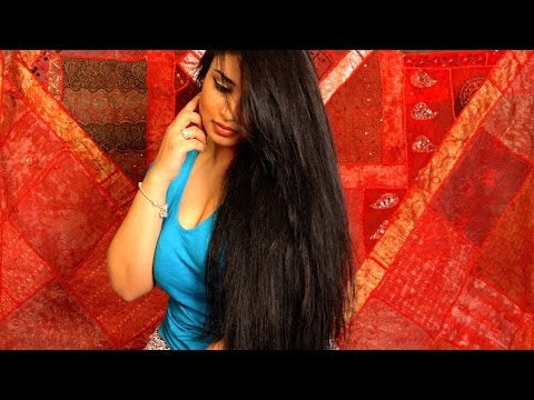 My Hair Treatment Routine for LONG & THICK Hair! Red Oil Review!
