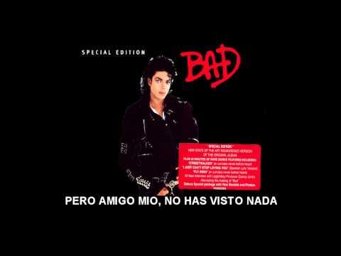 Michael Jackson Bad Subtitulada En Español video