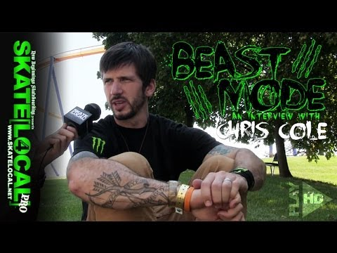 "SKATE LOCAL PRO ""BEAST MODE"" - INTERVIEW WITH CHRIS COLE"