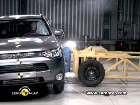 Euro NCAP | Mitsubishi Outlander | 2012 | Краш-тест
