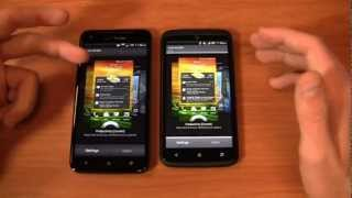 HTC DROID DNA vs. HTC One X+ Dogfight Part 1