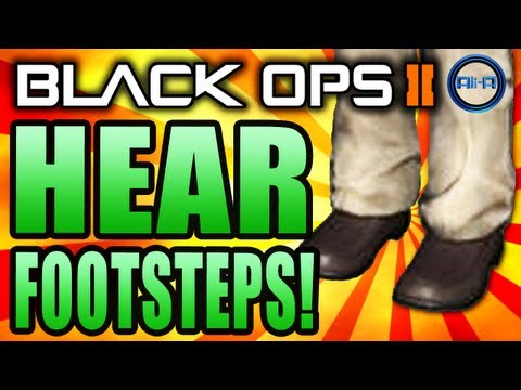 Black Ops 2 - How to HEAR FOOTSTEPS! Best Audio Settings! - (Call of Duty BO2: Tips & Tricks)