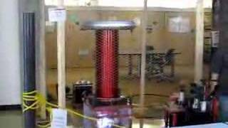 My Tesla Coil at the UW Engineering Expo 2007