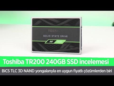 """Toshiba TR200 SSD incelemesi """"Toshiba'dan uygun fiyatlı BiCS NAND SSD"""""""