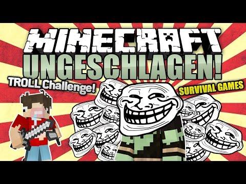 Total VERAR$CHT! - UNGETROLLT Challenge! - Minecraft UNGESCHLAGEN #94   ungespielt