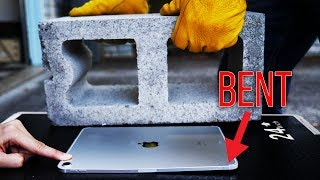 UNBENDING $1429 iPad Pro with Cinder Block