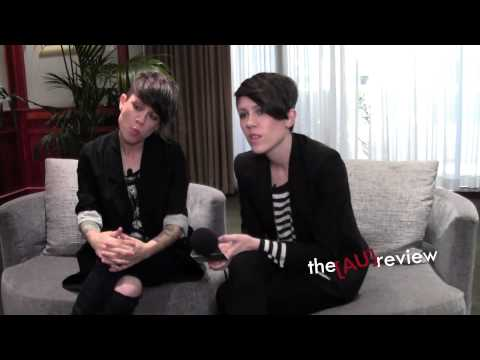 Tegan and Sara Interview: I Was A Fool Music Video, Heartthrob Reception and Live Show! (Part Two)