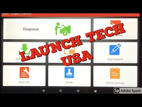 LAUNCH Tech USA X431 Torque An Awesome Scan Tool