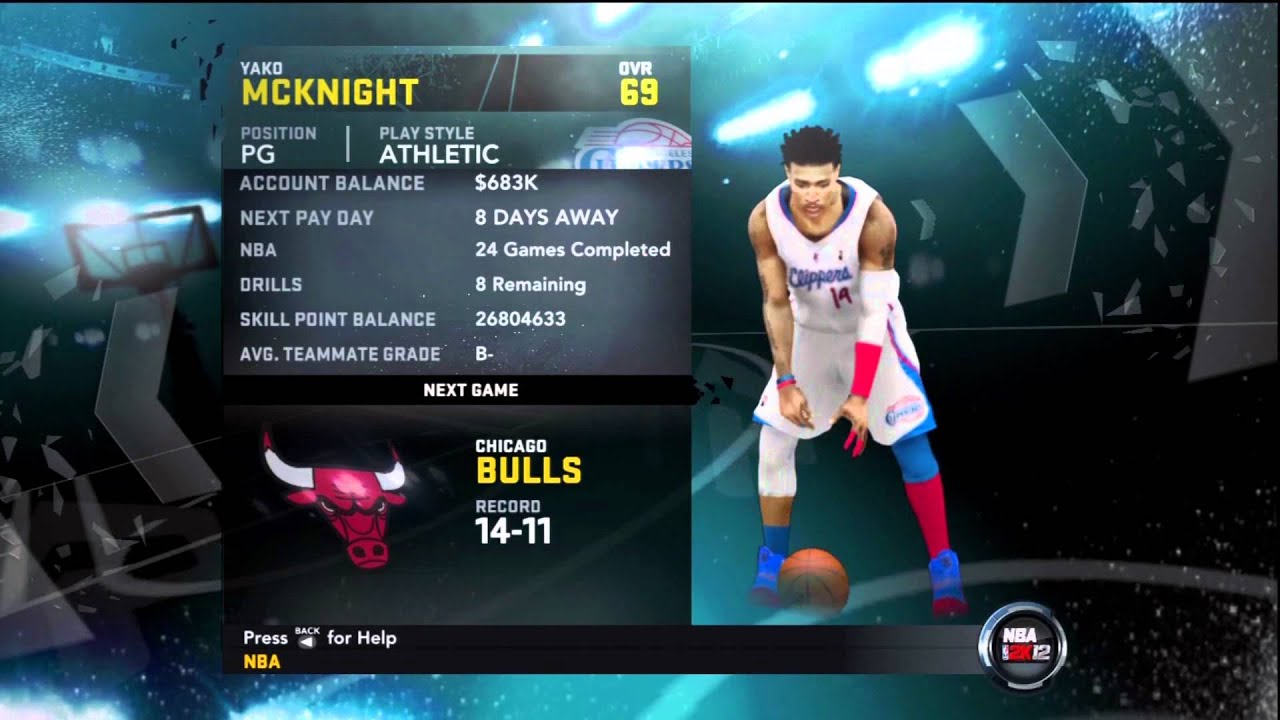 TuT How To Mod Nba 2k12 My Player 99 Overall YouTube