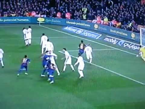 Dani Alves Goal (Barcelona vs. Real Madrid) Andin Lokaj Commentary